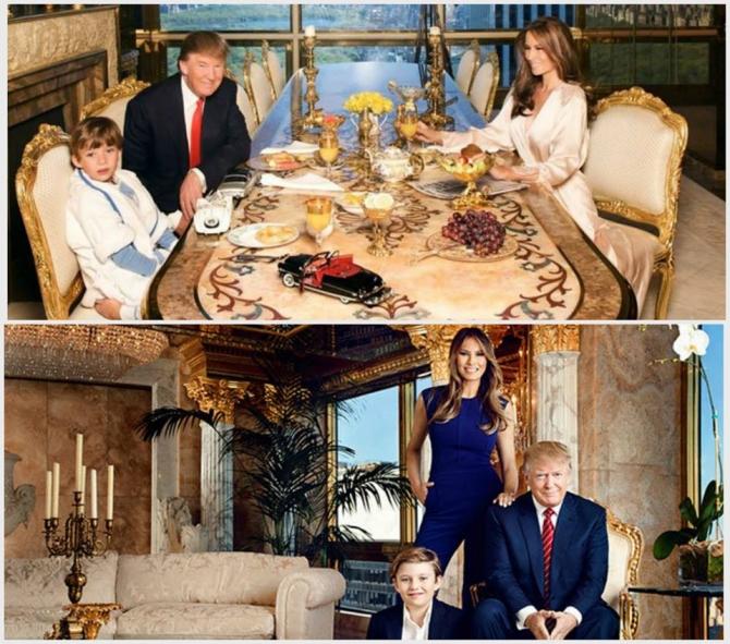 фото дома в котором живет дональд трамп является третьим